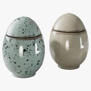 Eggs Easter 3d model