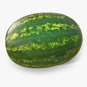 Wassermelone ganz realistisch 3 3d model
