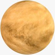 Fictional Alien Planet 07 3d model