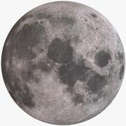 Planeta Lua 3d model