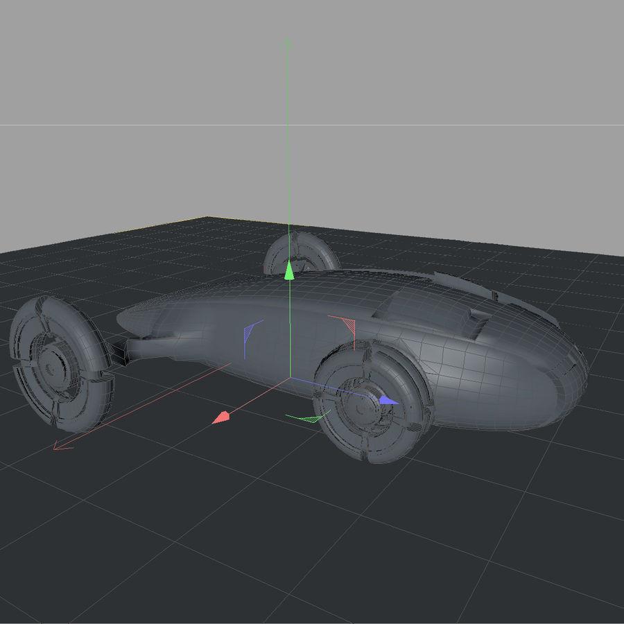 Sci fi collection (sci fi car, sci fi drone & sci fi corridor) royalty-free 3d model - Preview no. 15