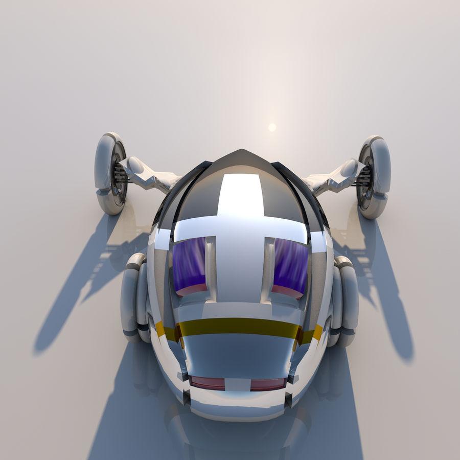 Sci fi collection (sci fi car, sci fi drone & sci fi corridor) royalty-free 3d model - Preview no. 4