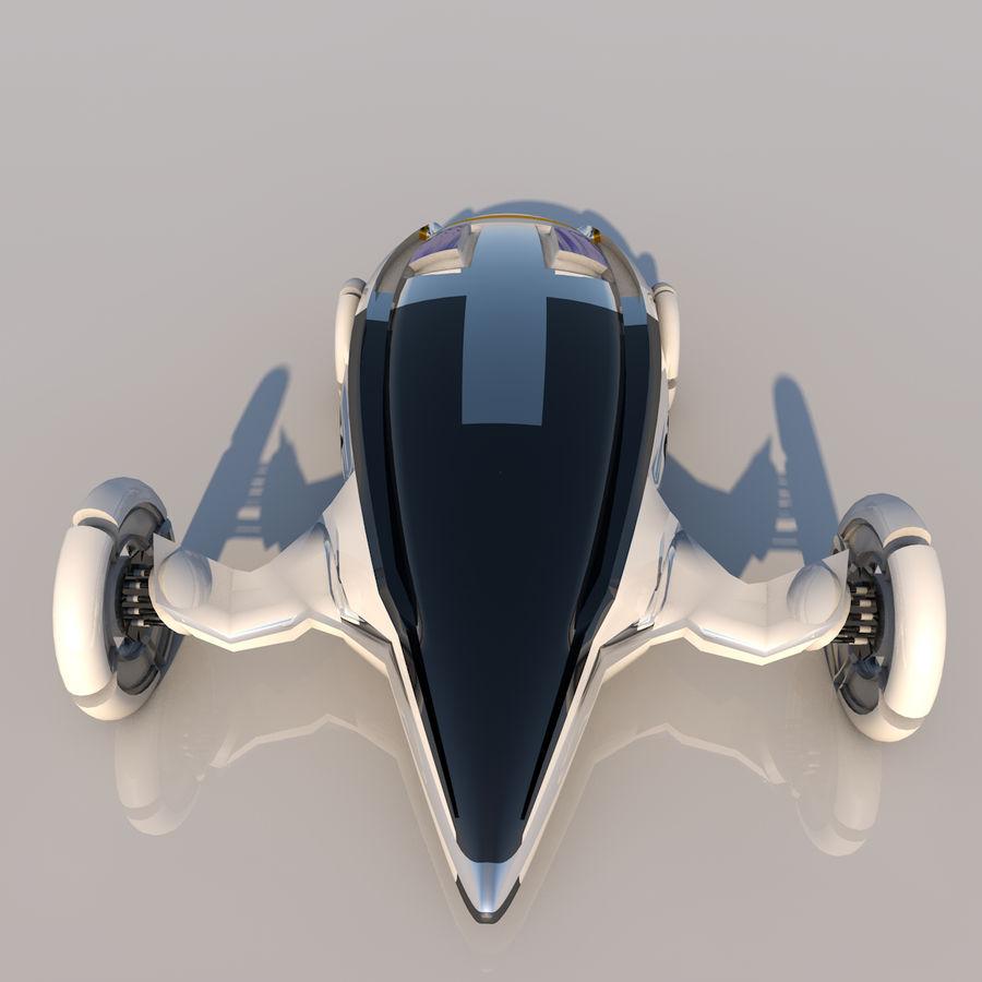 Sci fi collection (sci fi car, sci fi drone & sci fi corridor) royalty-free 3d model - Preview no. 9