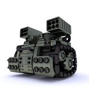 Tank mech CN-01 3D 모델 3d model