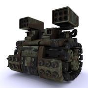 Tank mech CN-01 3D Models 3d model