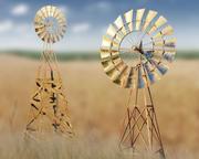 风力发电机 3d model