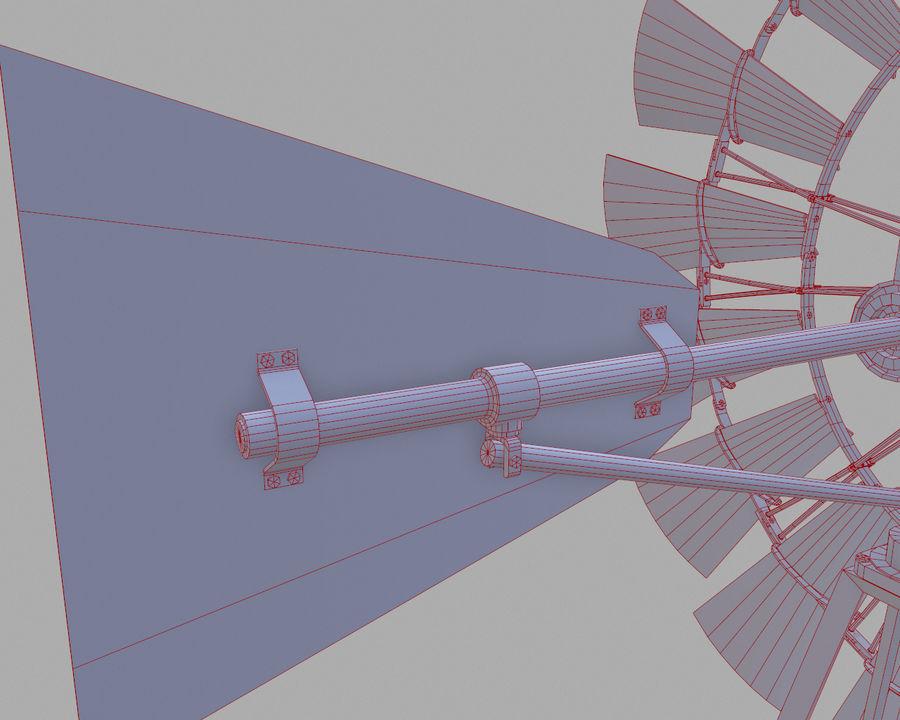Windgenerator royalty-free 3d model - Preview no. 16
