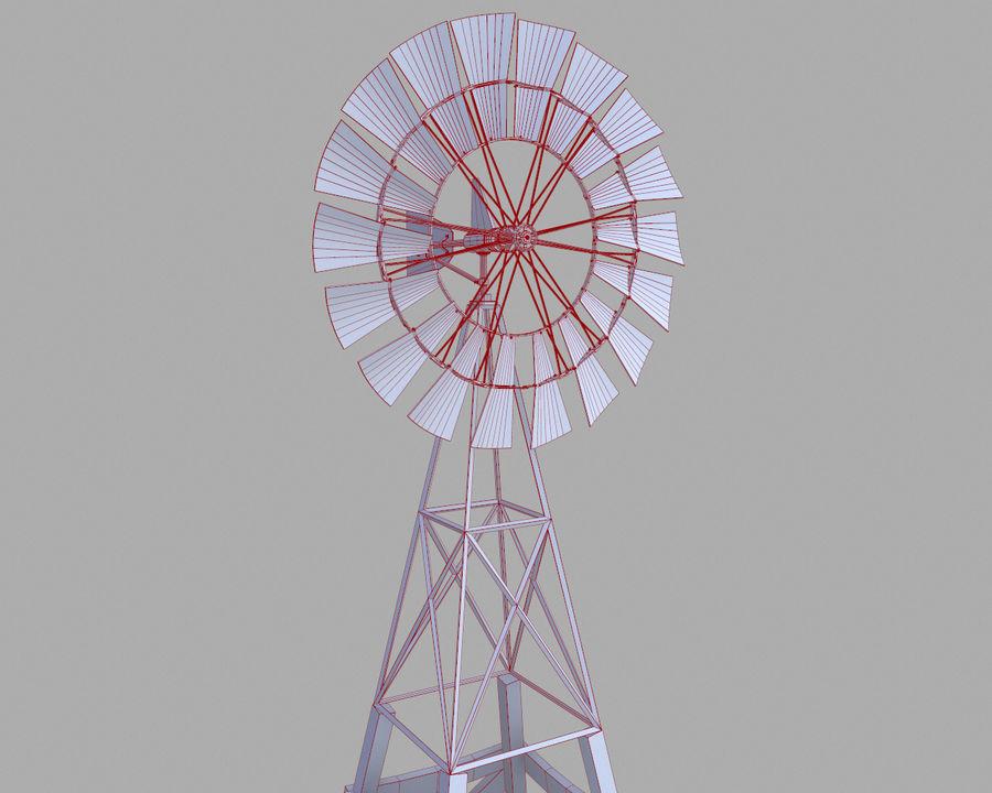 Windgenerator royalty-free 3d model - Preview no. 11
