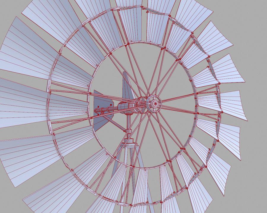 Windgenerator royalty-free 3d model - Preview no. 12