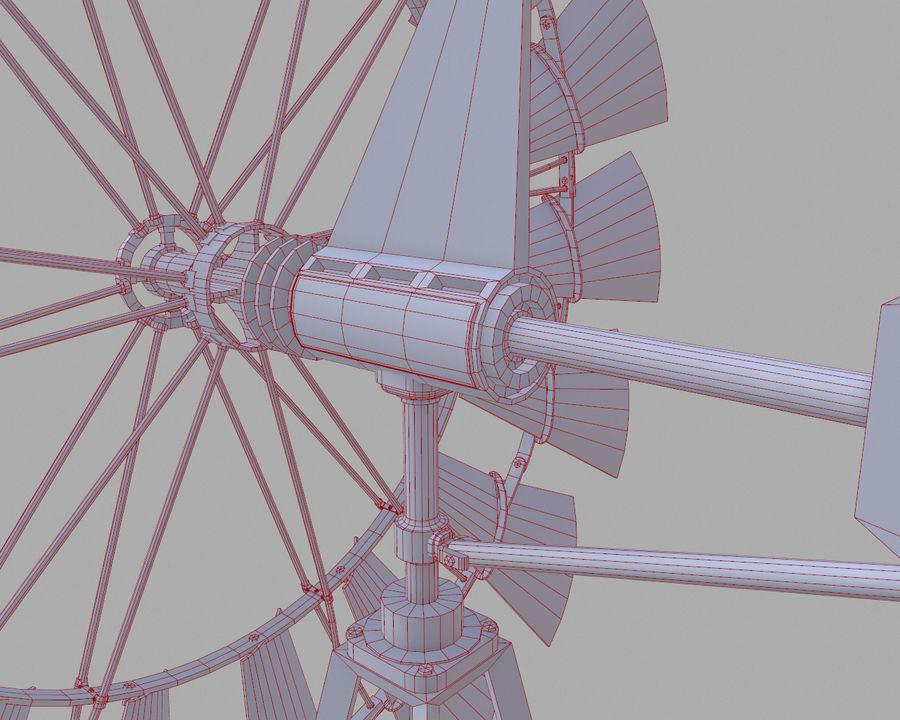 Windgenerator royalty-free 3d model - Preview no. 15