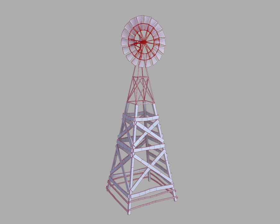 Windgenerator royalty-free 3d model - Preview no. 17