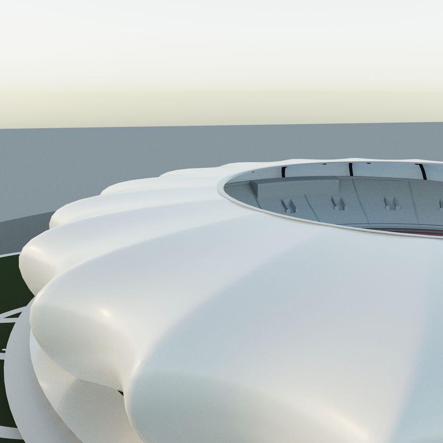 Stadium 10 royalty-free 3d model - Preview no. 6