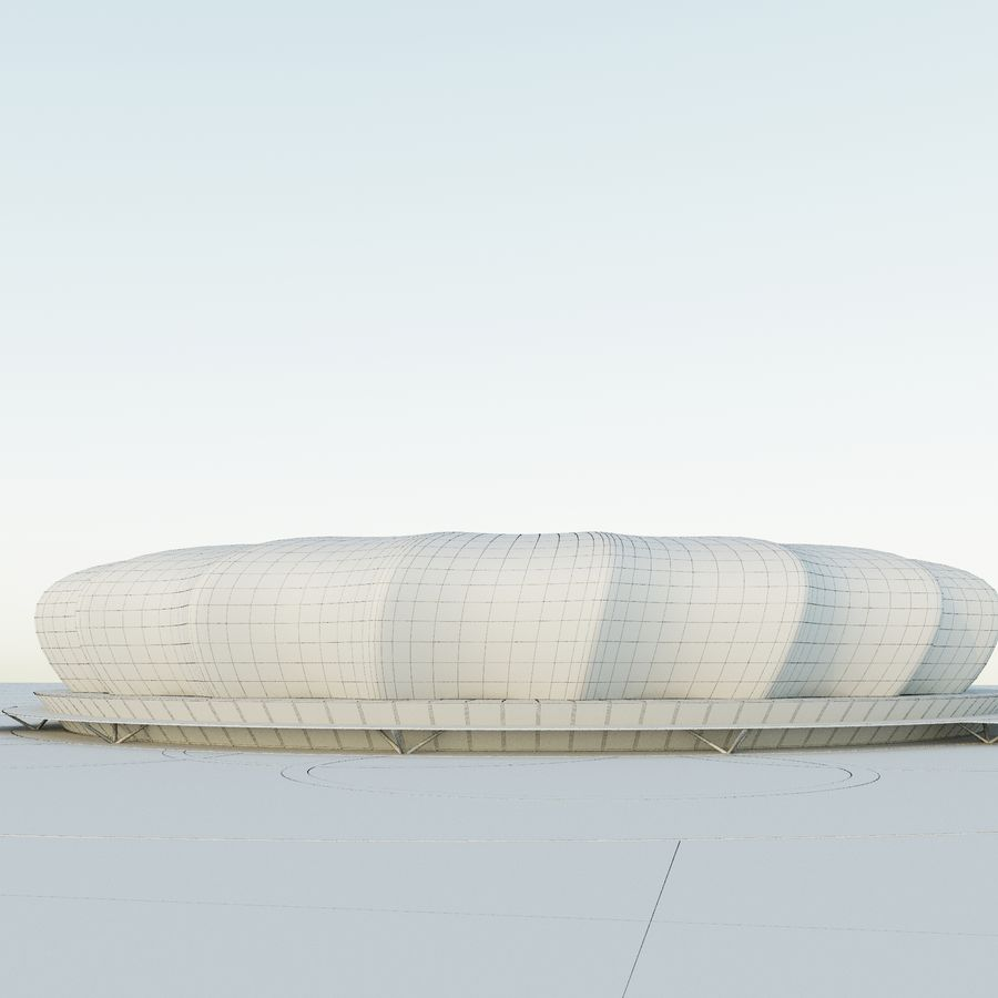 Stadium 10 royalty-free 3d model - Preview no. 9