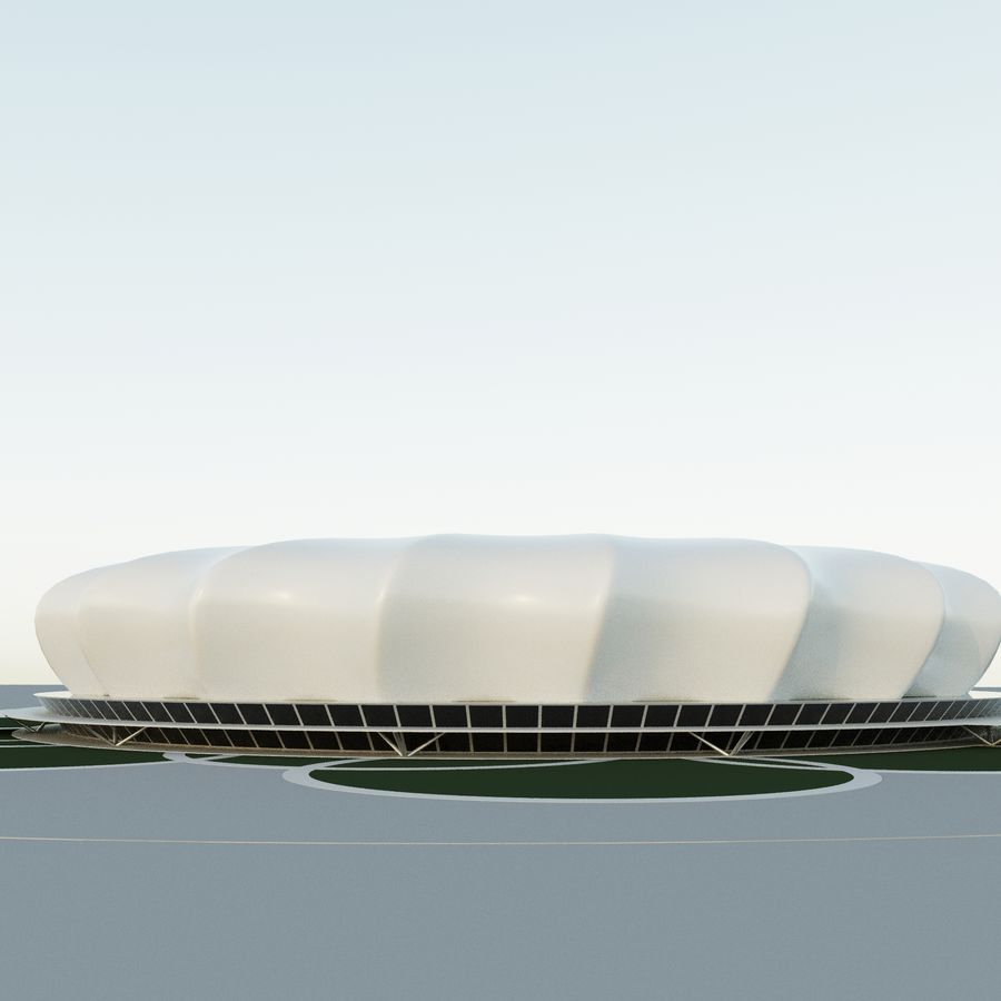 Stadium 10 royalty-free 3d model - Preview no. 2