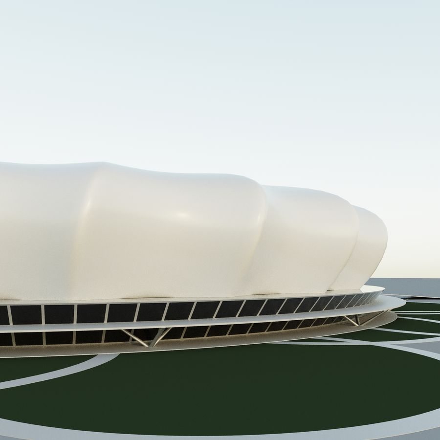 Stadium 10 royalty-free 3d model - Preview no. 1