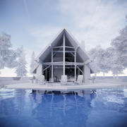 Casa do Lago 2 3d model