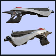 Sci-Fi style Weapon 3d model