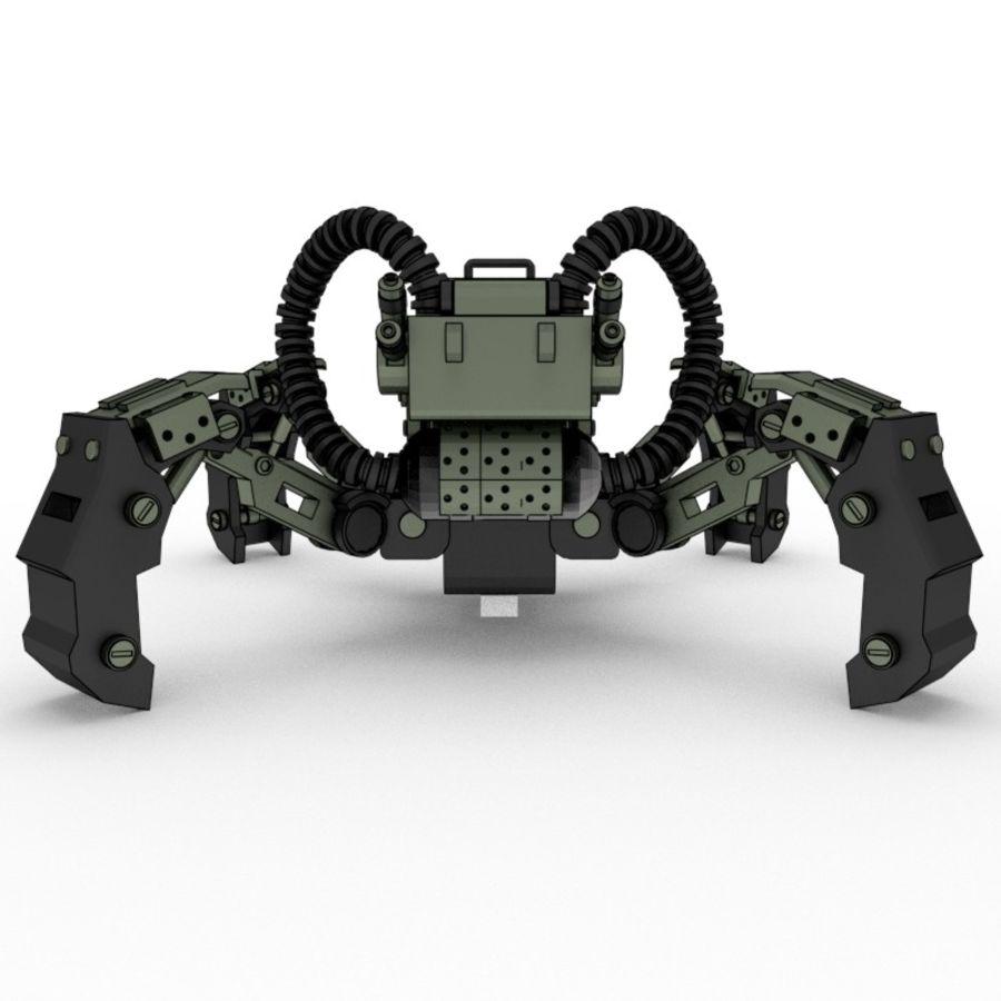 Spy bot walker Modèles 3D royalty-free 3d model - Preview no. 4
