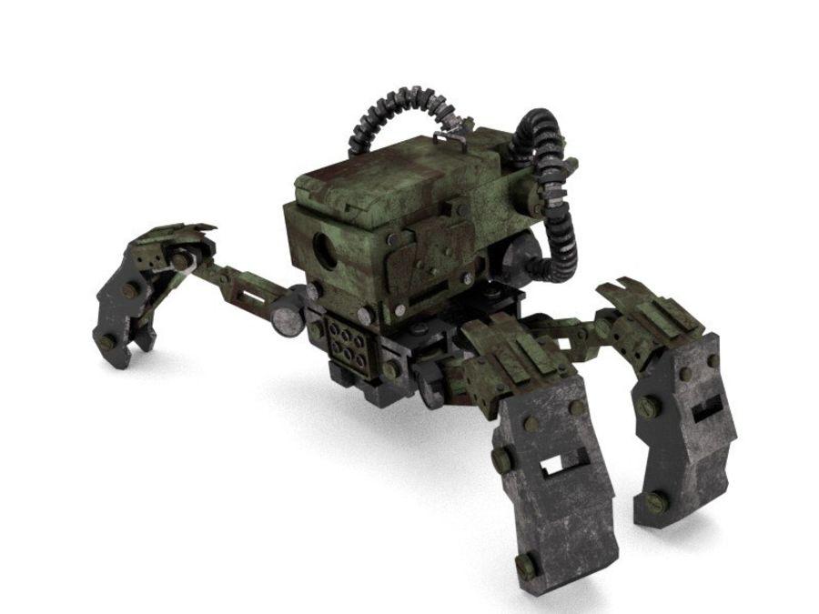 Spy bot walker Modèles 3D royalty-free 3d model - Preview no. 5