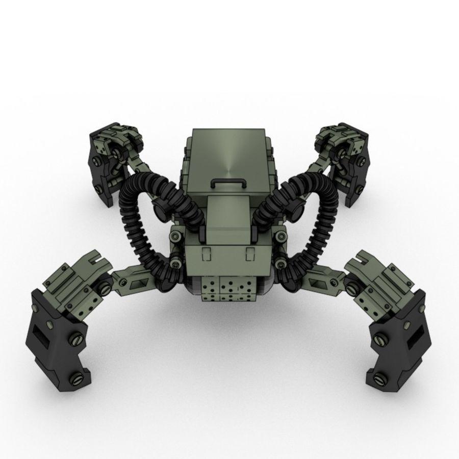 Modele 3D botów szpiegowskich royalty-free 3d model - Preview no. 5