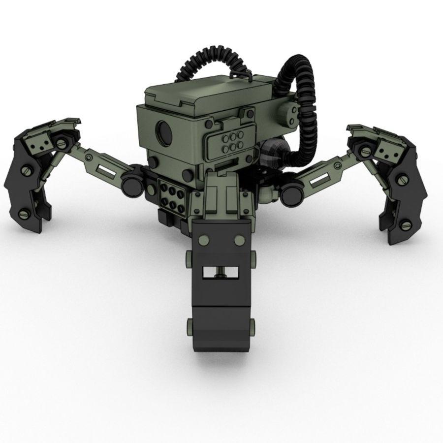 Spy bot walker Modèles 3D royalty-free 3d model - Preview no. 1