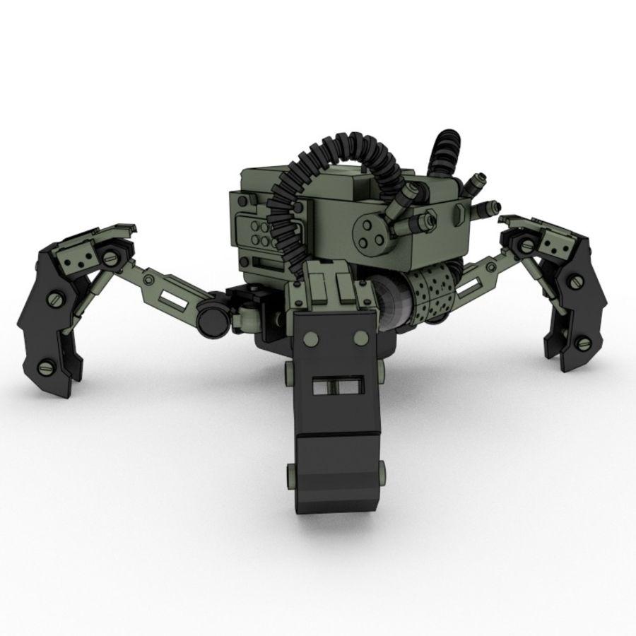 Spy bot walker Modèles 3D royalty-free 3d model - Preview no. 3
