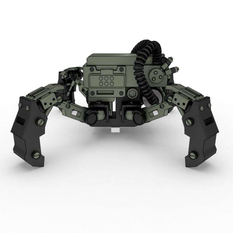 Spy bot walker Modèles 3D royalty-free 3d model - Preview no. 2