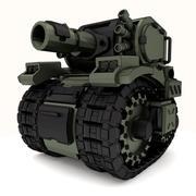 タンクメカGT02 3Dモジュール 3d model