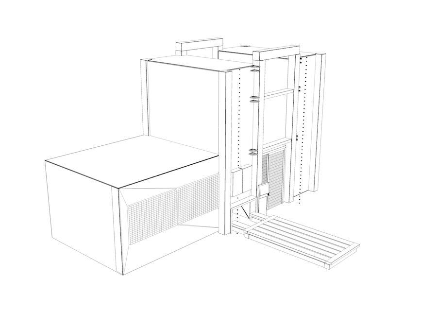 機械 royalty-free 3d model - Preview no. 4