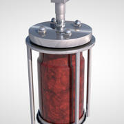 resin reactor 3d model