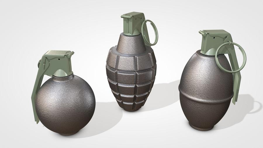 Grenade royalty-free 3d model - Preview no. 1