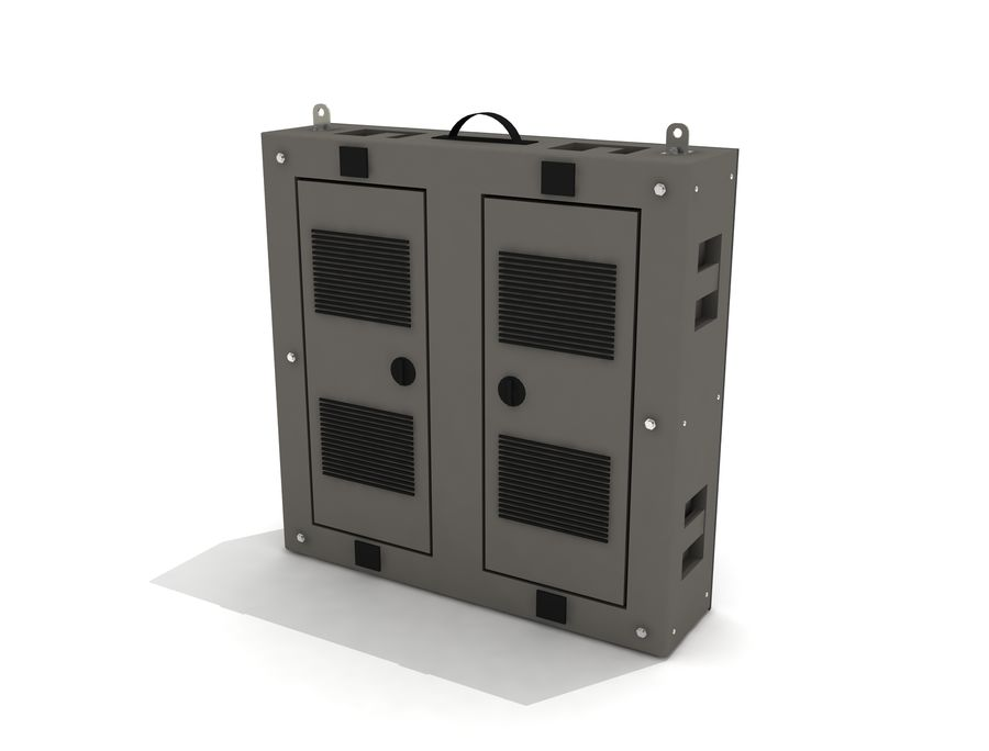 Светодиодная панель дисплея royalty-free 3d model - Preview no. 6