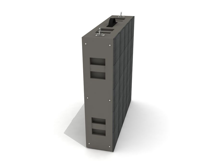 Светодиодная панель дисплея royalty-free 3d model - Preview no. 4