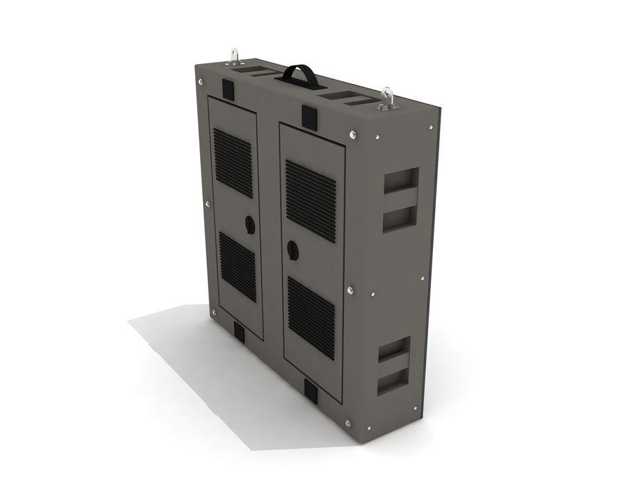 Светодиодная панель дисплея royalty-free 3d model - Preview no. 5