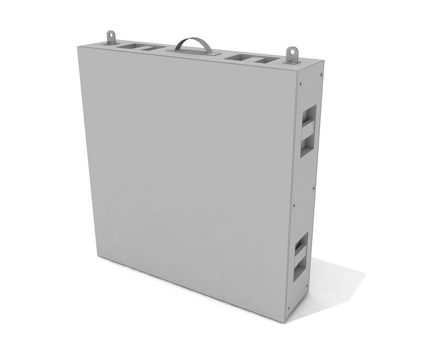 Светодиодная панель дисплея royalty-free 3d model - Preview no. 9