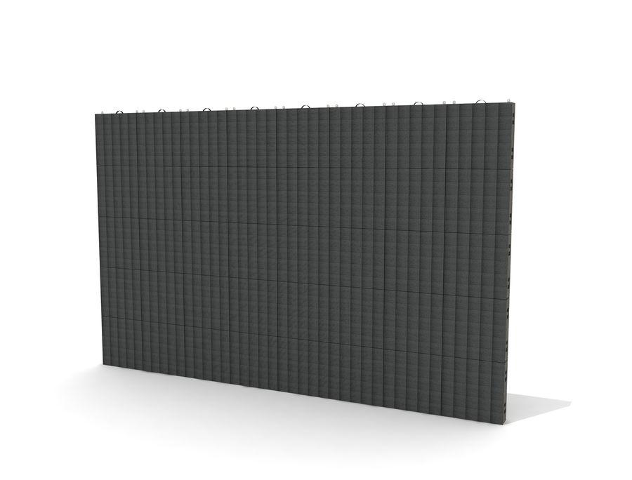 Светодиодная панель дисплея royalty-free 3d model - Preview no. 2