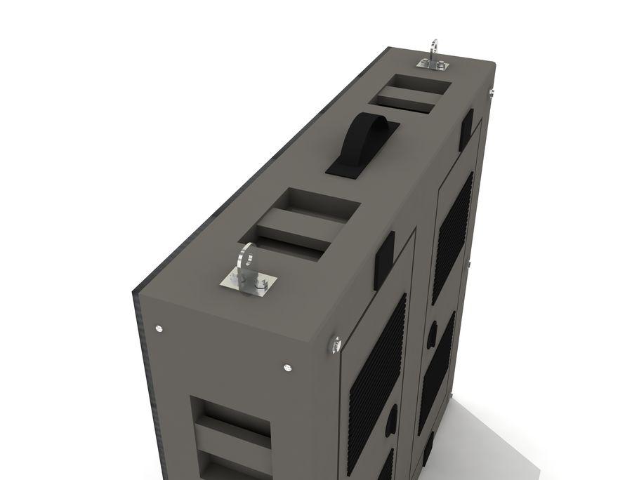 Светодиодная панель дисплея royalty-free 3d model - Preview no. 7