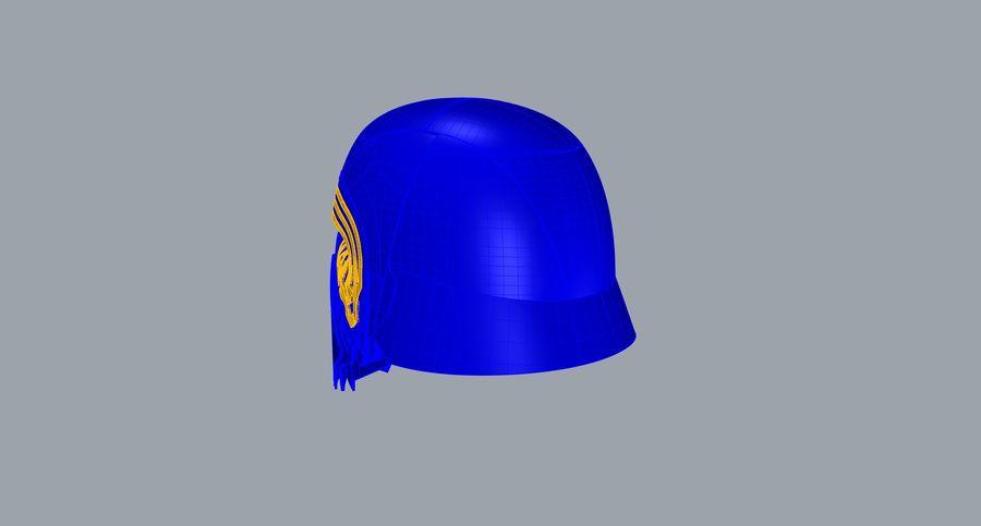 Nurbs Kylo Ren Helmet 3D model royalty-free 3d model - Preview no. 12