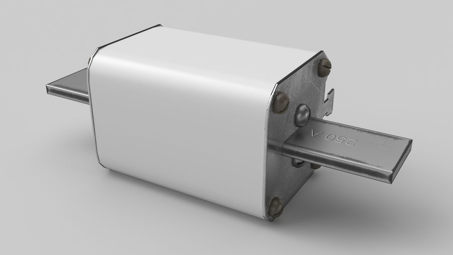 Fuse PN-2 royalty-free 3d model - Preview no. 4