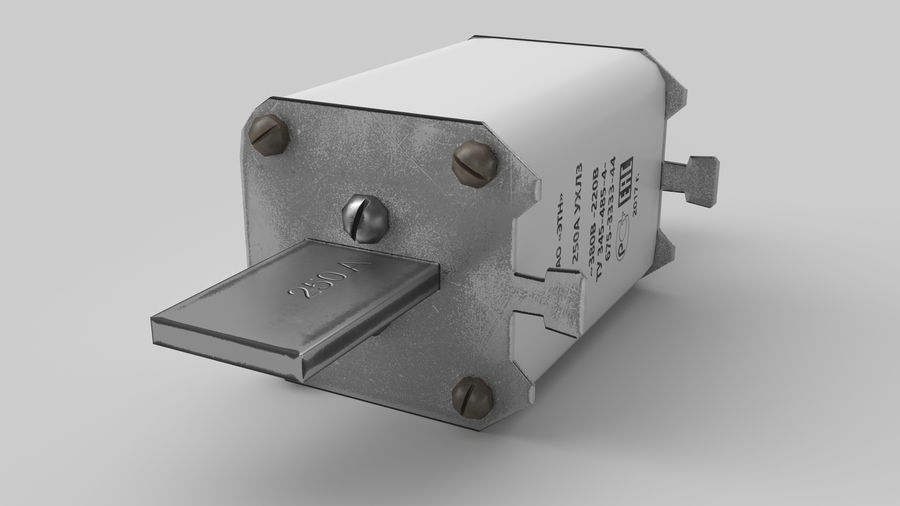 Fuse PN-2 royalty-free 3d model - Preview no. 7