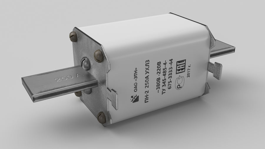 Fuse PN-2 royalty-free 3d model - Preview no. 2