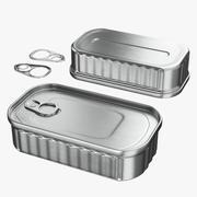 Boîte de conserve 01 3d model