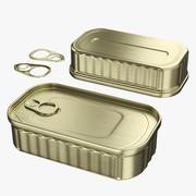 Tin Can 02 3d model