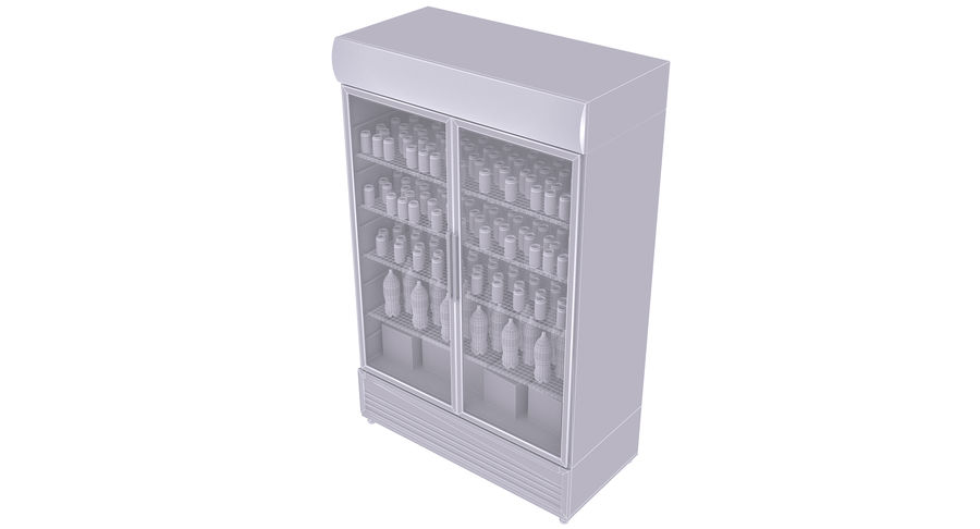 Pepsi And Coca Fridges royalty-free 3d model - Preview no. 30