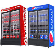 Pepsi And Coca Fridges 3d model