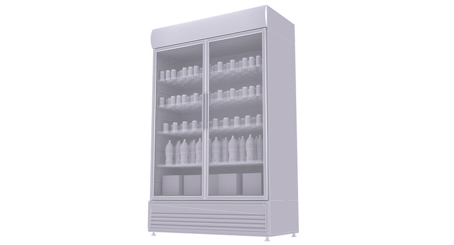 Pepsi And Coca Fridges royalty-free 3d model - Preview no. 32