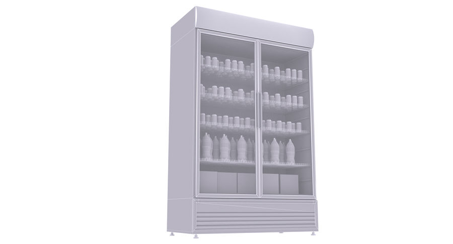 Pepsi And Coca Fridges royalty-free 3d model - Preview no. 29