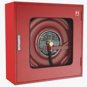 Коробка пожарного шланга 3d model