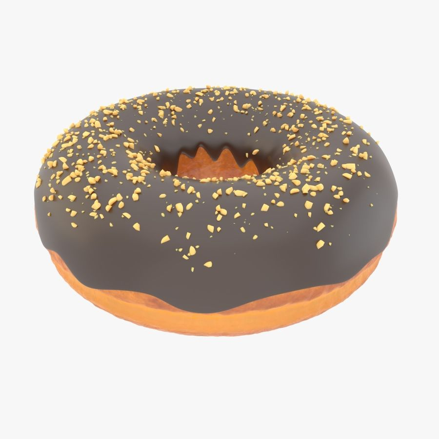 Rosquinha royalty-free 3d model - Preview no. 1