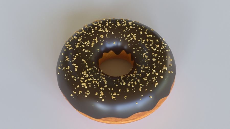 Rosquinha royalty-free 3d model - Preview no. 2